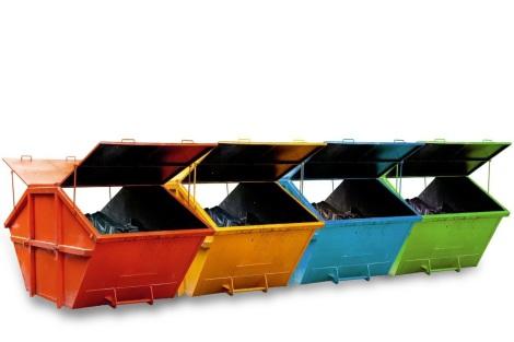 Abfallarten fuer Container